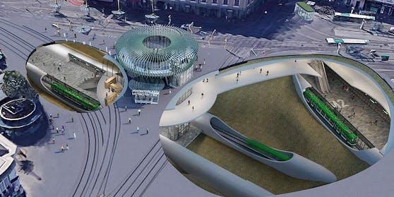 In Graz wird es zwei Metro-Linien geben.