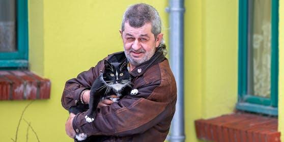"""""""Quarky"""" will sich für den Tierschutz in Demmin einsetzen."""