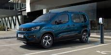 Elektroauto für die Familie: Der neue Peugeot e-Rifter