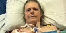 Covid-Patient macht nach 10 Monaten erste Schritte