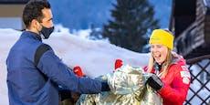 Biathlon-Ikone mit besonderem Geschenk für Liensberger