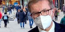 Anschober fordert jetzt FFP2-Maskenpflicht im Freien