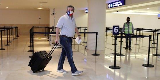 Ted Cruz sorgte mit seinem Abstecher nach Cancun für heftige Kritik.
