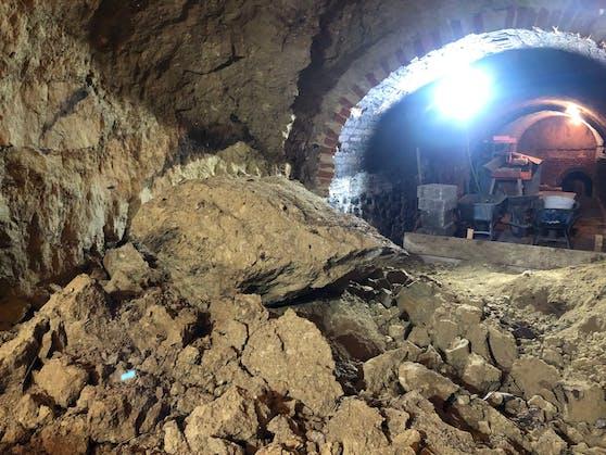 Ein 39-Jähriger starb bei dem Keller Einsturz.