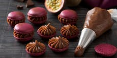 So machst du ganz einfachMaracuja-Schokoladen-Macarons