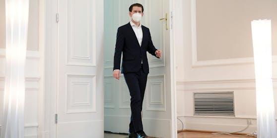 Sebastian Kurz nach dem Gastro-Gipfel