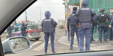 Wega vor Ort – großer Polizeieinsatz in Favoriten