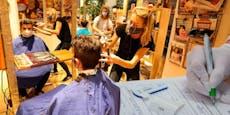 So hart strafte Polizei bei Wiener Friseuren ab