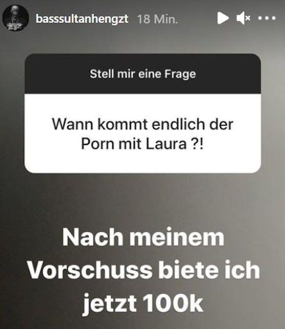 Bass Sultan Hengzt und sein Porno-Angebot für Laura Müller