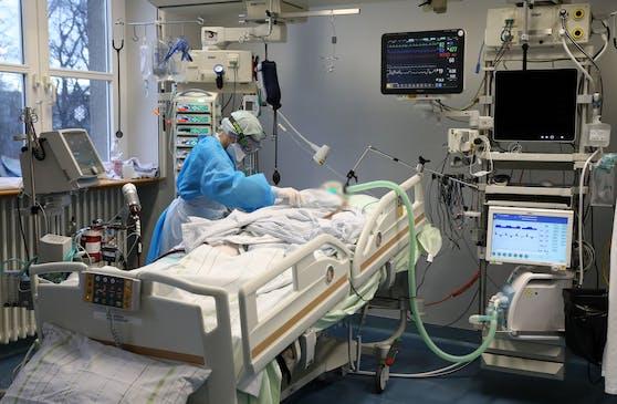Eine Infektion kann auf der Intensivstation enden.