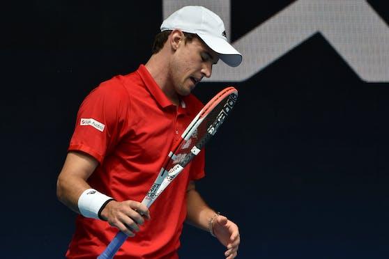 Dominic Thiem verlor beim ATP Cup.