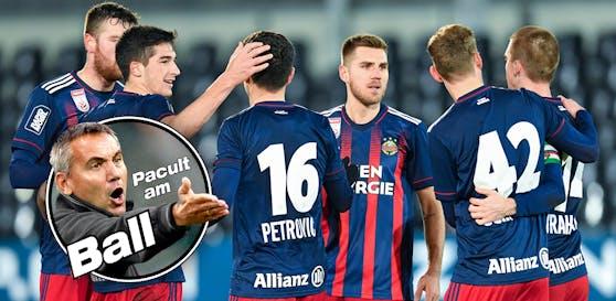 Rapid feierte den 2:1-Erfolg gegen den den LASK.