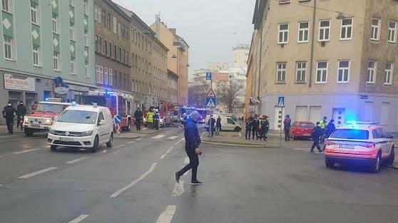 Blaulicht-Einsatz in Wien-Favoriten