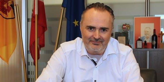 Landeshauptmann Hans Peter Doskozil ist nach seiner OP wieder zurück