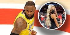 Zuschauerin pöbelt LeBron James an, fliegt aus Halle
