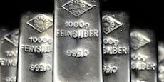 Nach Höhenflug sinkt Silberpreis wieder