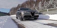 Schön und schön schnell: Der Alfa Romeo Stelvio im Test