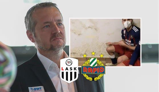 LASK-Geschäftsführer Andreas Protil ist verärgert.