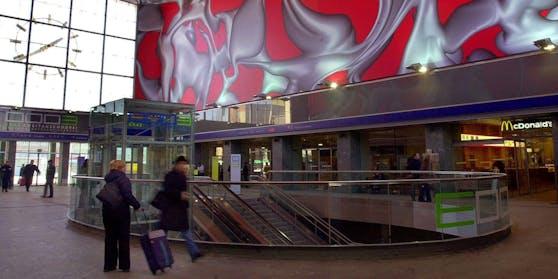 Der Mann weigerte sich, am Gelände des Hauptbahnhofes Graz eine FFP2-Maske tragen.