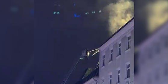 Am Freitag brannte es in Wien-Margareten