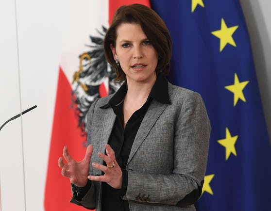 Verfassungsministerin Karoline Edtstadler
