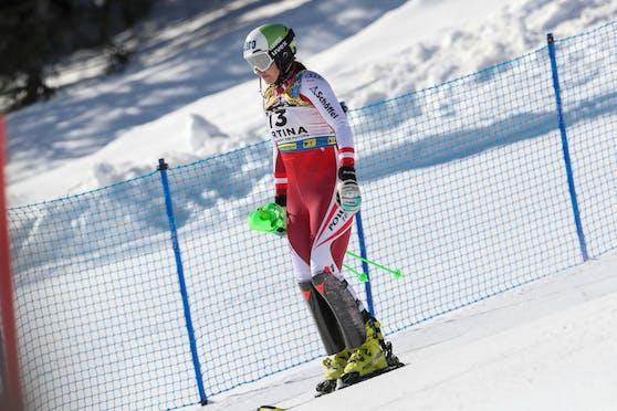 Katharina Huber kam bei der WM nur bis zum neunten Tor.