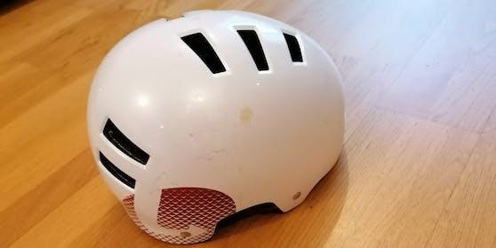 Äußerlich ist der Helm in Ordnung.