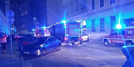 Samstagabend brannte es in einem Wohnheim in Wien-Leopoldstadt