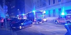 Wohnheim wegen Brands von Wiener Feuerwehr evakuiert