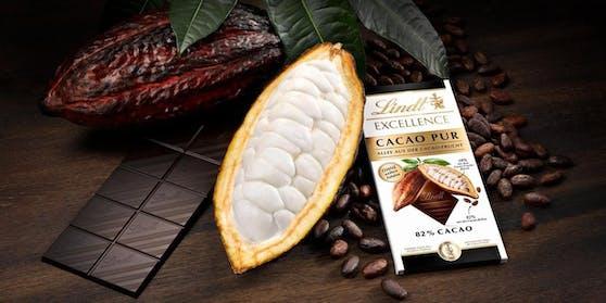 """Die neuste Lindt-Kreation """"Excellence Cacao Pur"""" darf nicht Schokolade heißen."""