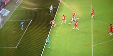 Wurde Rapid hier das 1:0 in Salzburg gestohlen?