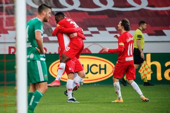 Salzburg jubelt gegen Rapid