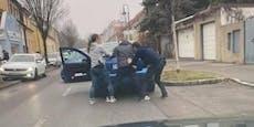 VW gestohlen, Diebe werden live auf Facebook verfolgt