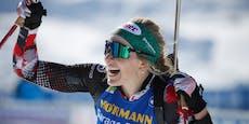 Lisa Hauser gewinnt historisches Gold bei Biathlon-WM