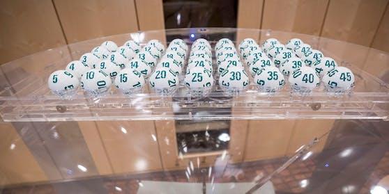 """Bei Lotto """"6 aus 45"""" lockte ein Fünffach-Jackpot."""