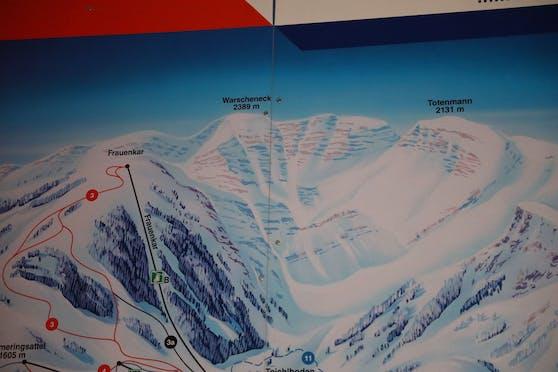 Im Toten Gebirge bei Spital am Pyhrn kam es zum tödlichen Unfall.