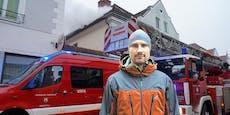 Nachbar und Floriani retteten Verletzte aus Haus