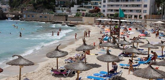 Die Corona-Zahlen auf den Balearen, zu denen Mallorca gehört, sind weiterhin relativ niedrig.