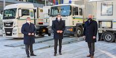 Neuer Prüfzug mit 430 PS für Kontrollen in NÖ unterwegs