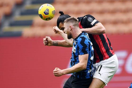 Ibrahimovic hat mit Milan im Derby gegen Inter keine Chance