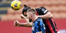 Inter stellt Milans Ibrahimovic im Derby mit 3:0 kalt