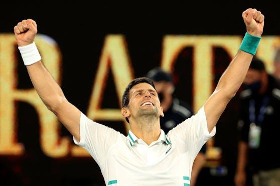 Tennis-Star Novak Djokovic.