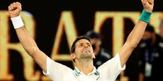 Djokovic sprintet zum neunten Australian-Open-Titel