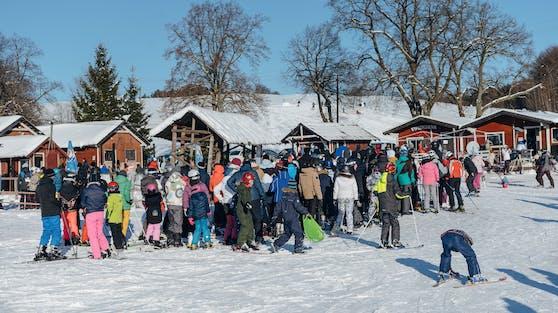 Großer Andrang im polnischen Skigebiet Zakopane