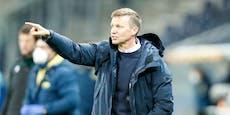 Wechsel zu Gladbach? Salzburg-Coach spricht Klartext