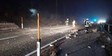 31-Jähriger stirbt bei Arbeiten nach Steinschlag