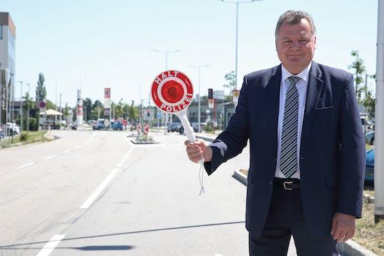 Infrastruktur-Landesrat Günther Steinkellner (FPÖ)