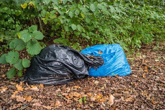 Im Bezirk Feldkirchen wurden Müllsäcke mit den Überresten von Wildtieren gefunden.