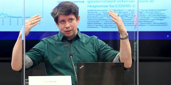 Peter Klimek vom Complexity Science Hub Vienna (CSH)