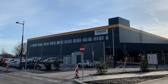 Das neue Verteilzentrum von Amazon in Wien